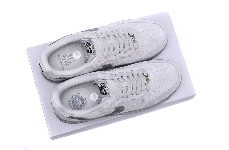 Nike Air Force1 x Reigning Champ Classic Gray Ash Men s Women s Running  Shoes Sneakers AA1117-118 311330b69