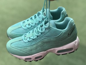 7621b72e1 Honey Nike Air Max 95 Og Qs Ghost Green White 918359 006 Women s Running  Shoes