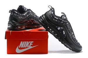 9146a207543bca Nike Air Max 97 Ultra Premium Confetti Black Vast Grey Men s Running Shoes