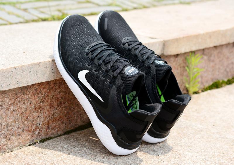b27d94024448f Nike Free RN 2018 5. 0 Black White Men s Women s Running Shoes NIKE ...