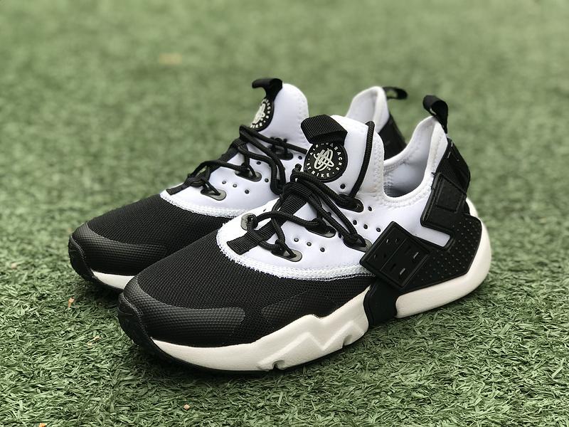 Handsome Nike Air Huarache Drift Black White 819685 001 Women\u0027s Men\u0027s  Running Shoes