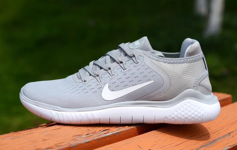 e270fac7900dc Nike Free RN 2018 5. 0 Wolf Grey White Men s Women s Running Shoes ...