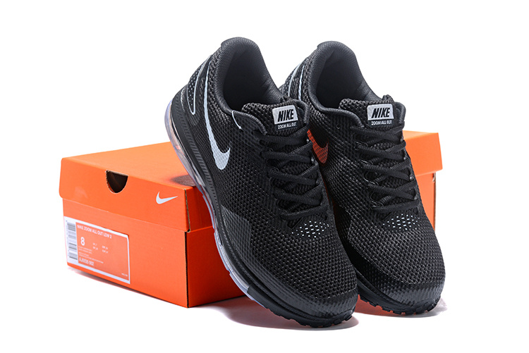 2320e2532d3 Nike Zoom All Out Low 2 Black Silver AJ0035 002 Men s Running Shoes ...