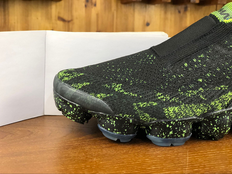f5e2657782eed Acronym x Nike Air VaporMax Moc 2 Black Volt AQ0996 007 Men s Running Shoes