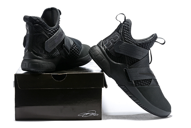 new concept 0c649 d1f0e Nike LeBron Soldier 12 Zero Dark Thirty Dark 23 Anthracite Black AO4054 002  Men's Basketball Shoes AO4054-002