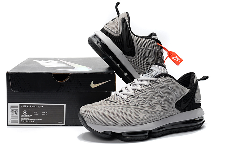 763ad24881 Nike Air VaporMax 2019 KPU Wolf Grey Black Men's Running Shoes ...