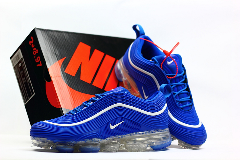 Online Nike Air Max 97 2018 KPU Royal Blue White Men s Running Shoes ... 1a68e4f3d489