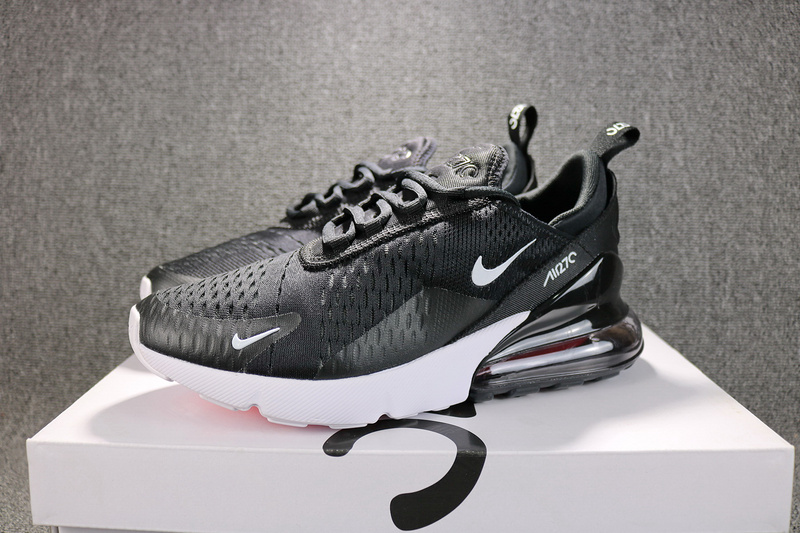 the best attitude 82038 dc574 Nike Air Max 270 Flyknit Black White Solar Red Anthracite AH8050 002 Men's  Running Shoes AH8050-002A