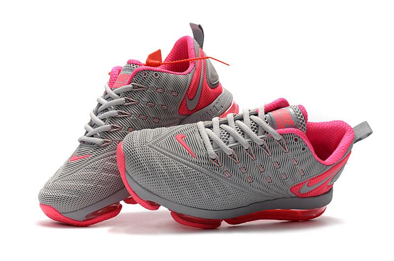 reputable site 7a4ba ab457 Nike Air VaporMax 2019 KPU Gray Pink Women's Running Shoes SH1712-076