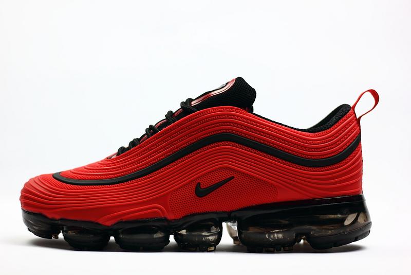 Nike Air Max 97 2018 KPU October Red Black Men's Running Shoes NIKE ST002299