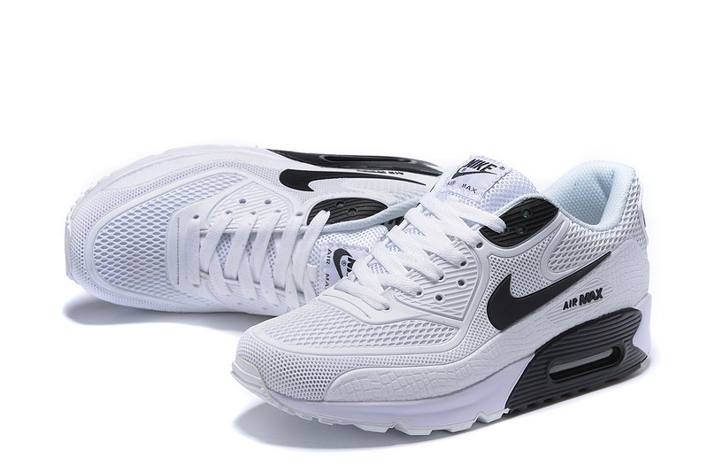 official photos 8fab9 96133 Nike Air Max 90 Kpu White Black Men s ...