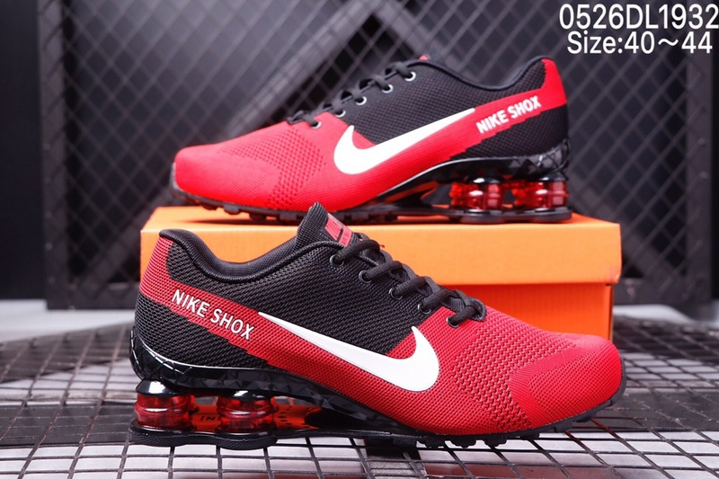 best service 62ede 44727 Nike Air SHOX World Cup Flyknit October Red White Black Men s ...