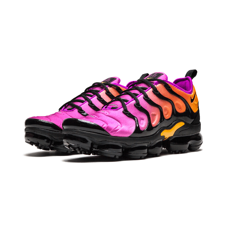 huge selection of d5db6 69b8f Nike Air Vapormax Plus TN Black Pink AO4550 004 Women's Running Shoes  AO4550-004