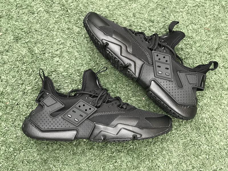 80d3d36d8962 Nike Air Huarache Drift Premium Triple Black 819685 002 Women s Men s  Running Shoes