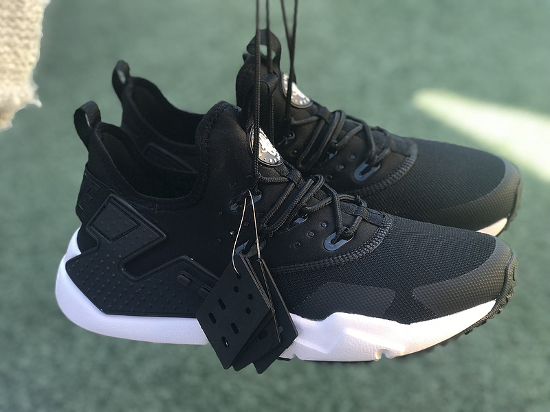 new style aeda6 ce9b2 Nike Air Huarache Drift Oreo Black White 819685 002 Women's Men's ...