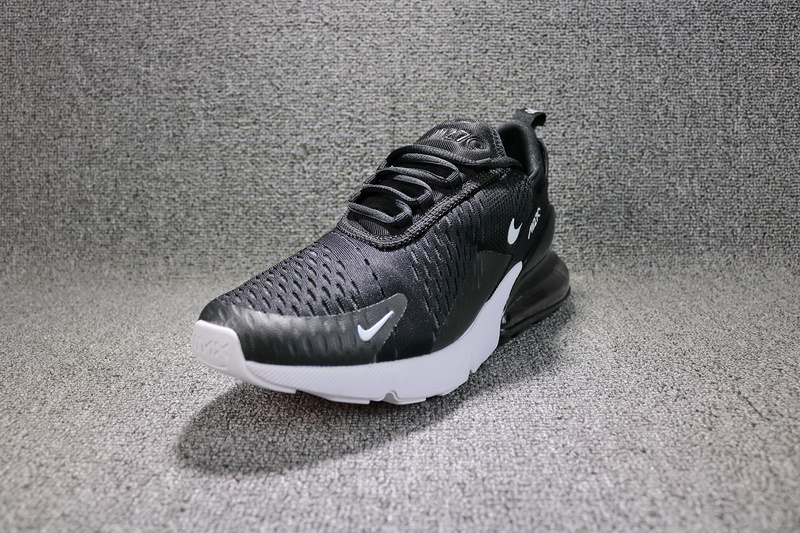 newest cbfbd 4a258 Nike Air Max 270 Flyknit Black White Solar Red Anthracite AH8050 002 Men s  Running Shoes