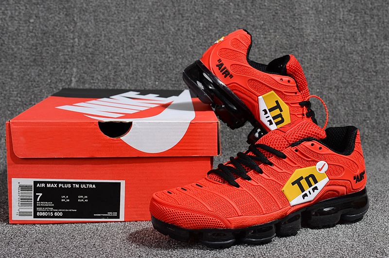 pretty nice 088b0 d6861 Nike Air Max Plus Tn Ultra October Red Red Yellow White 898015 600 Men's  Running Shoes 898015-600B