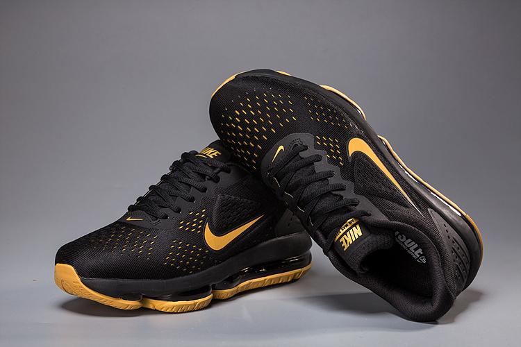 9fd586361daabf Nike Air Max 2019 V2 Black Gold Men s Running Shoes NIKE-ST002164 ...