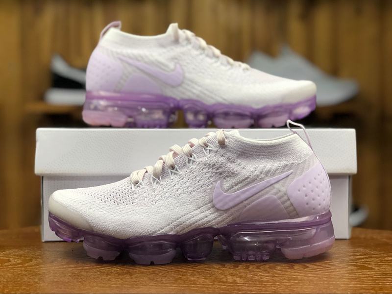 91f5c7210ca Nike Air Vapormax Flyknit 2. 0 Night Light Violet White Pink 942843 ...