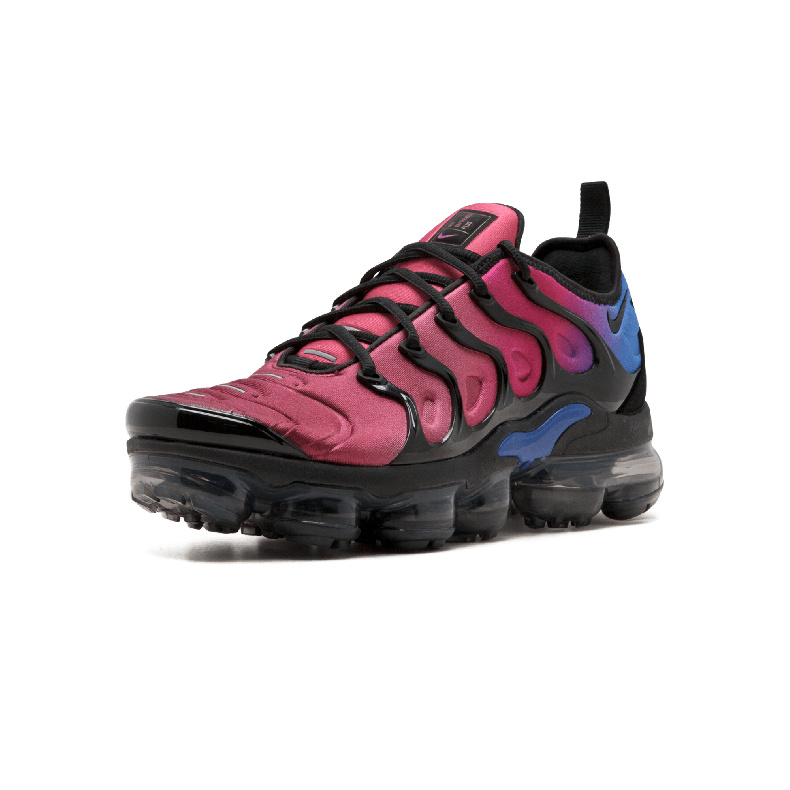 05ba903391e Nike Air Vapormax Plus TN Black Hyper Violet AO4550-001 Mens Running Shoes
