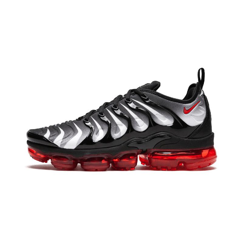 c12a47c6d83 Nike Air Vapormax Plus TN Black Red AQ8632-001 Mens Running Shoes ...