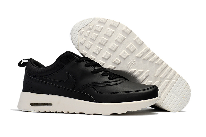 new style 61d30 fd9ef Nike Air Max Thea Pinnacle Leather Black ...