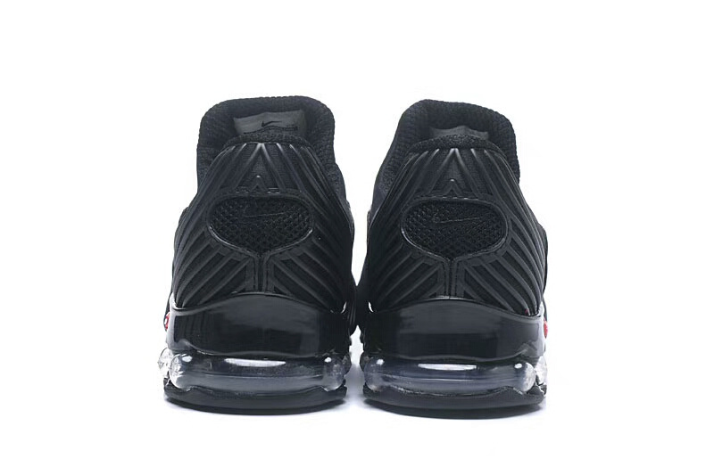 online store 27d13 a5af5 Nke Air Max Plus v 50 Cent Shox Triple Black Men s Running Shoes