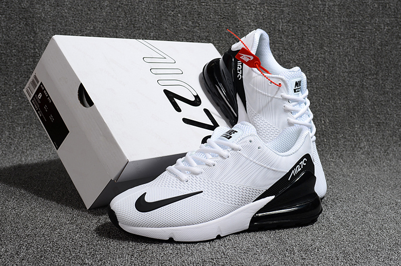 online store 86906 6f720 ... Running Shoes›. Nike Air Max 270 Kpu White Black Men s ...
