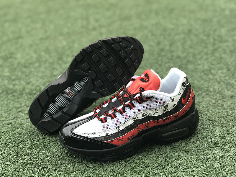 official photos 171e0 72024 Beautiful Nike Air Max 95 Black Red White 918359 002 Women's Men's Running  Shoes 918359-002