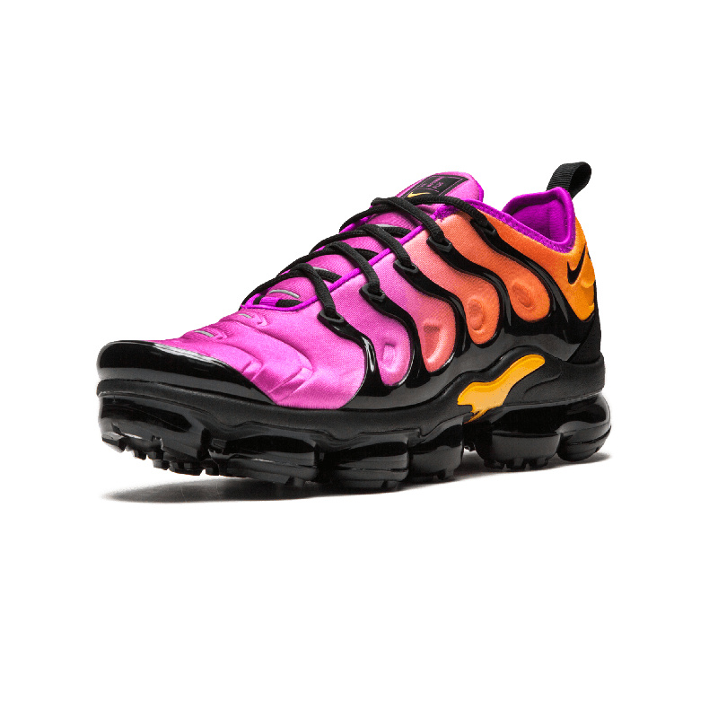 huge selection of 0912d a2fcf Nike Air Vapormax Plus TN Black Pink AO4550 004 Women's Running Shoes  AO4550-004