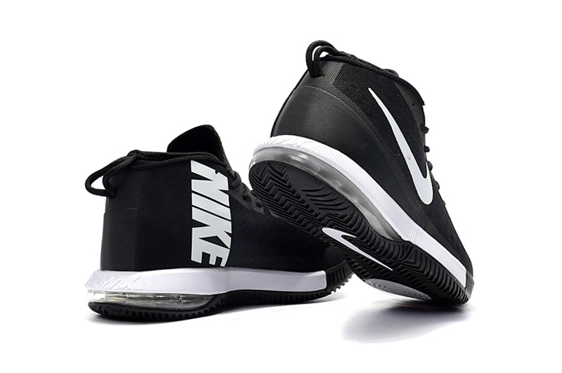 the latest 16ebc b2df7 Nike Air Max Dominate EP Black White Men s Basketball Shoes