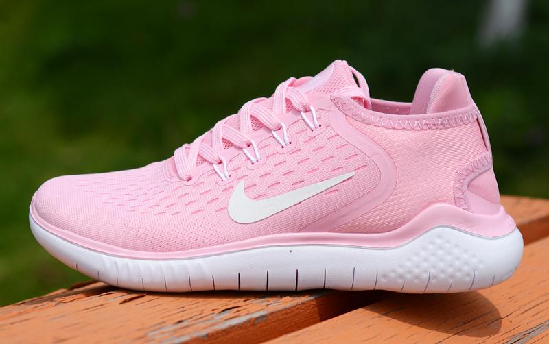 dcd75bb2091 Nike Free RN 2018 5. 0 Baby Pink White Women s Running Shoes NIKE ...