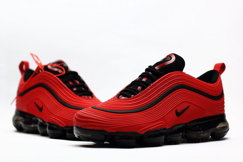 64915ebf8f8d Nike Air Max 97 2018 KPU October Red Black Men s Running Shoes NIKE ...