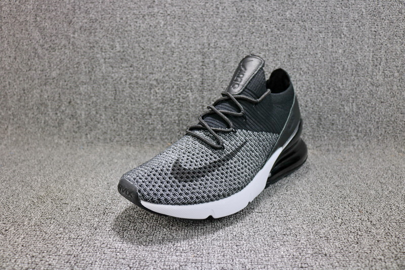 10ed7e7371e5d Nike Air Max 270 Flyknit Light Bone White Dark Hazel AO1023 002 Women s  Men s Running Shoes