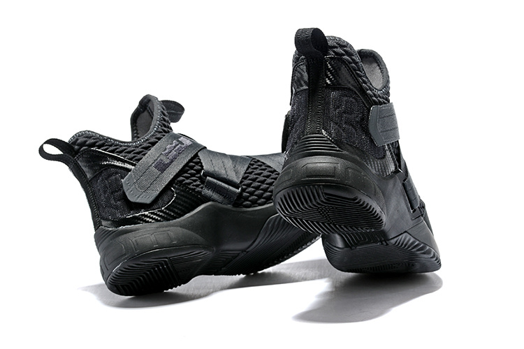 fb19125062b Nike LeBron Soldier 12 Zero Dark Thirty Dark 23 Anthracite Black AO4054 002  Men s Basketball Shoes