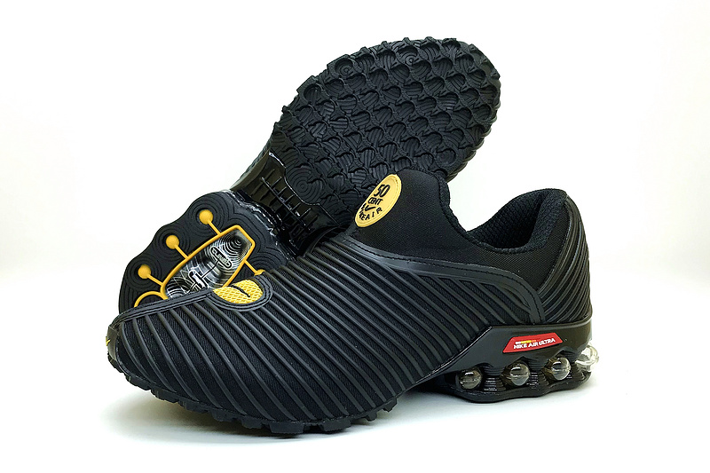 official photos 064da b1d73 Nke Air Max Plus v 50 Cent Shox KPU Black Gold Men's Running Shoes  NIKE-ST002284