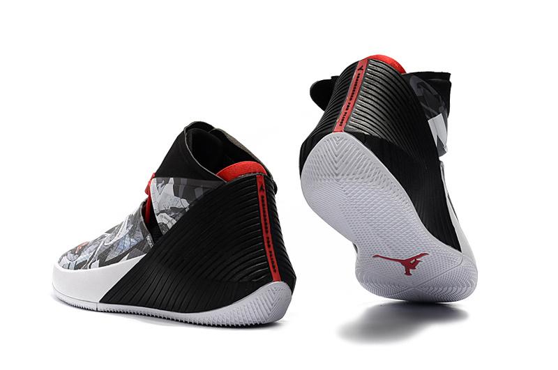quality design 6c1b2 37688 Nike Jordan Why Not Zer0. 1 Russell Westbrook Mirror Image White Black  University Red AO1041