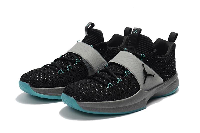 quality design 1577c 8bf72 Air Jordan Trainer 2 Flyknit Black Cool Grey Hyper Jade Black 921210 014  Men s Basketball Shoes