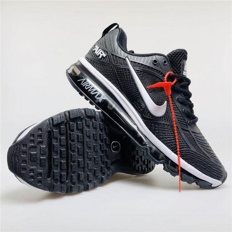 brand new fe4ca bb031 Nike Air Max 2019 Kpu Black White Men s Women s Running Shoes
