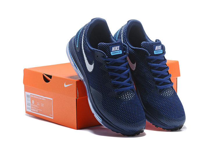 110c74c91 Nike Zoom All Out Low 2 Navy Blue White AJ0035 414 Men s Running ...