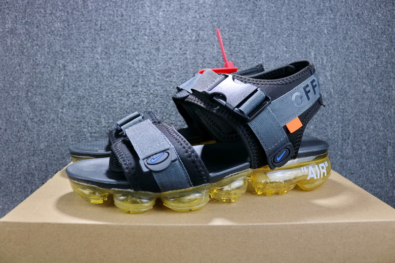 Off white x Nike Air VaporMax Grey Yellow 850588 002 Boys Men s ... a0dc25d2c6