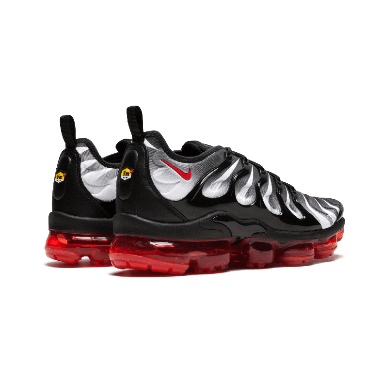 more photos 41cff 01a6b Nike Air Vapormax Plus TN Black Red AQ8632-001 Mens Running Shoes AQ8632-001