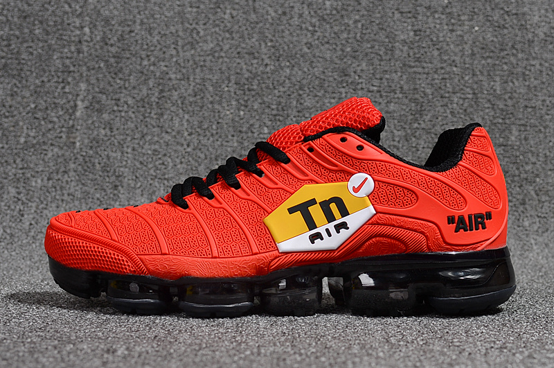 pretty nice ef0c8 d51ec Nike Air Max Plus Tn Ultra October Red Red Yellow White 898015 600 Men's  Running Shoes 898015-600B