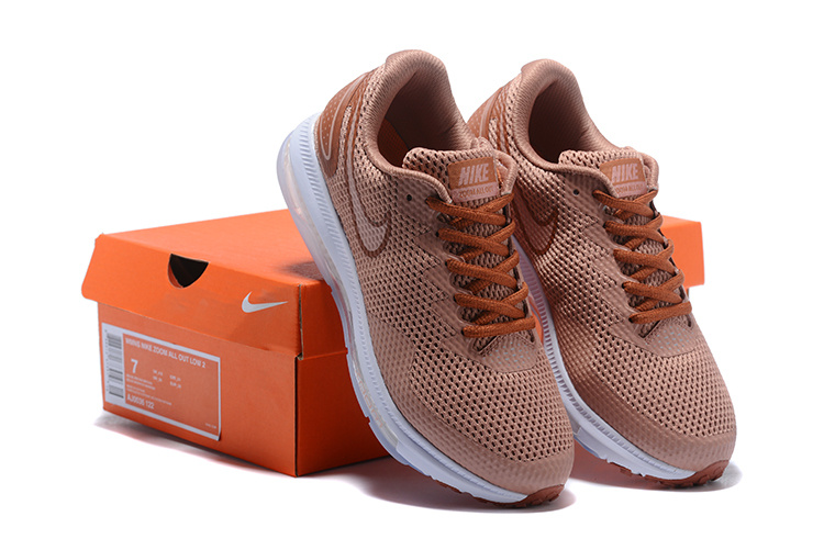 ab18beab613 Nike Zoom All Out Low 2 Dusty Peach Particle Pink Metallic Red ...