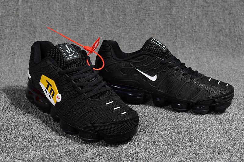 ae98b8c29ecb Nike Air Max Plus Tn Ultra Triple Black Red Yellow White 898015 100 Men s  Running Shoes