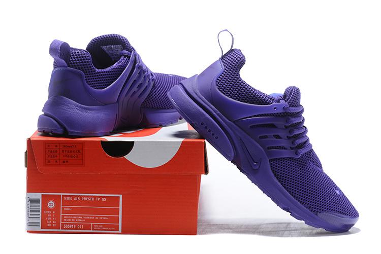 7de1cd4e299884 Nike Air Presto Br Triple Purple Men s Women s Running Shoes 305919-011