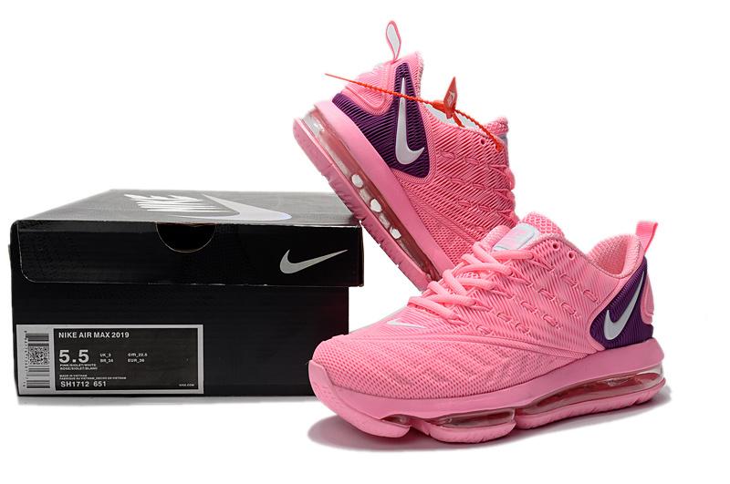 7c612be39f5a Nike Air VaporMax 2019 KPU Hyper Pink Black White Women s Running ...