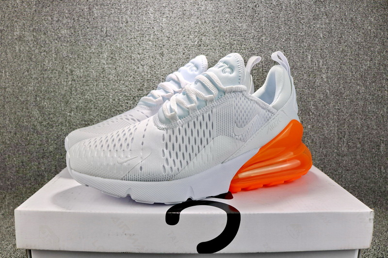 best service 7e006 1c105 Nike Air Max 270 Flyknit Total Orange White AH8050 102 ...