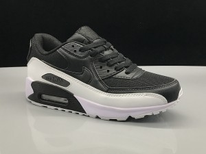 Nike Air Max 90 White Red Black Women's Men's Casual Shoes