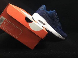 newest collection 80133 328cd Nike Air Max 90 Ultra 2. 0 Leather Midnight Navy Summit White 924447 400  Men s